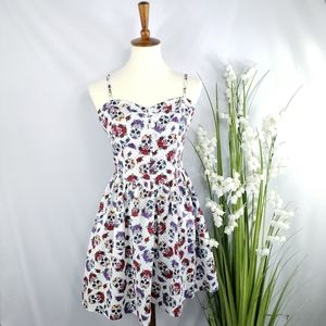 Hell Bunny Sugar Skull Dress Size Medium